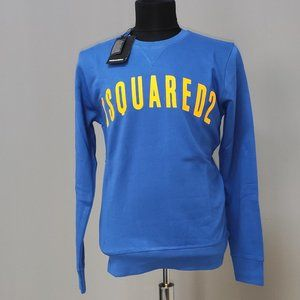 Dsquared2 Bright Navy Casual Men Sweat